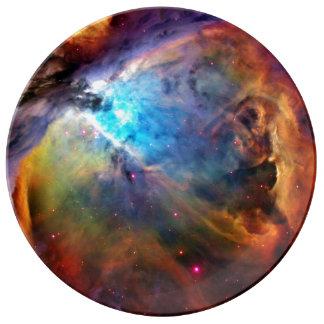 The Orion Nebula Porcelain Plate