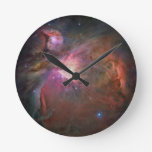 The Orion Nebula Round Clock