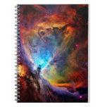 The Orion Nebula Spiral Notebook