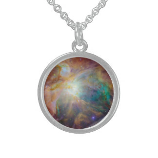 The Orion Nebula Sterling Silver Necklace