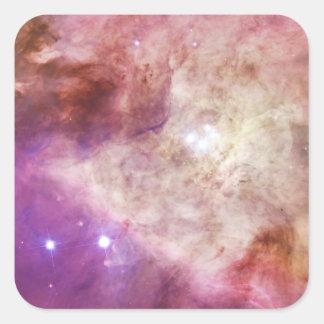 The Orion Nebula's Biggest Stars Messier 42 M42 Square Sticker