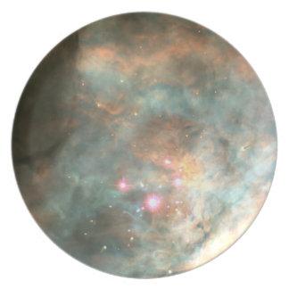 The Orion Nebula's Trapezium Cluster Plate