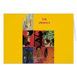 THE ORISHAS BY LIZ LOZ CARD