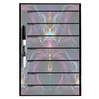 The Orkolon Tile Pattern Eraseboard Dry Erase Board