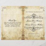 "The Ornate Flourish Vintage Wedding Collection<br><div class=""desc"">The Ornate Flourish Vintage Wedding Collection - Bi-fold Program Templates.</div>"