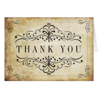 Image result for Victorian Thank you sign