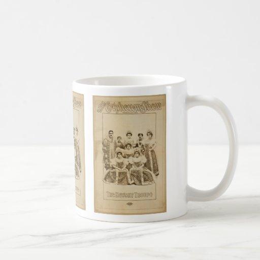 The Orpheuw Show, 'The Newsky Troupe' Vintage Thea Classic White Coffee Mug