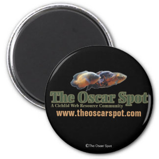 The Oscar Spot 2 Inch Round Magnet