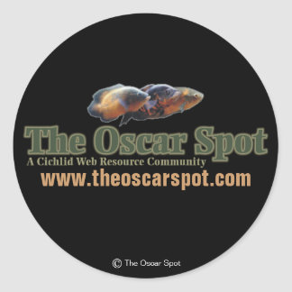 The Oscar Spot Classic Round Sticker