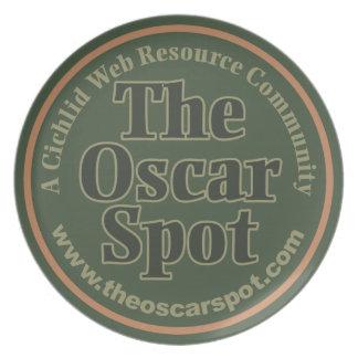 The Oscar Spot Party Plates