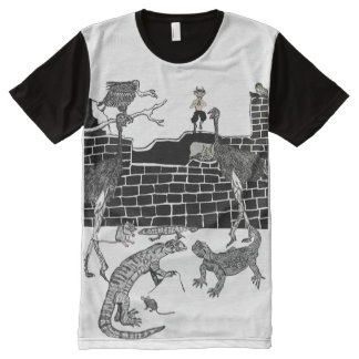 The Ostrich's Abode All-Over-Print T-Shirt
