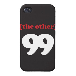 """""""[The Other] 99"""""""" Case For iPhone 4"""
