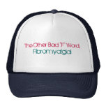 "The Other Bad ""F"" Word,, Fibromyalgia! Hat"