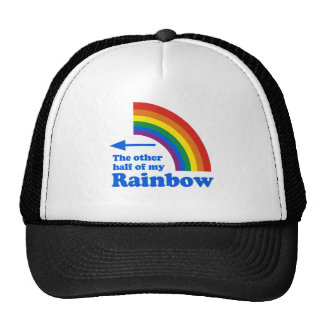 THE OTHER HALF OF MY RAINBOW (Right) Trucker Hat