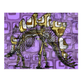 """The other purple dinosaur"" Postcard"