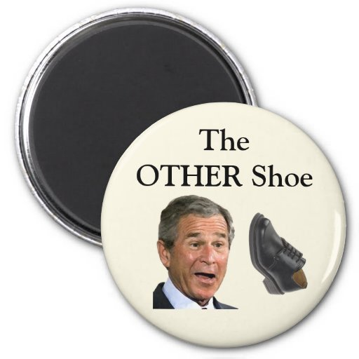 The OTHER Shoe 2 Inch Round Magnet