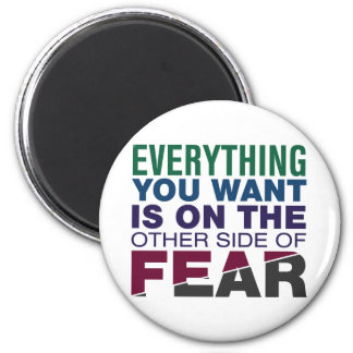 The Other Side of Fear Magnet