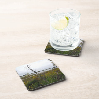 The Other Side of Oak Island Beverage Coasters