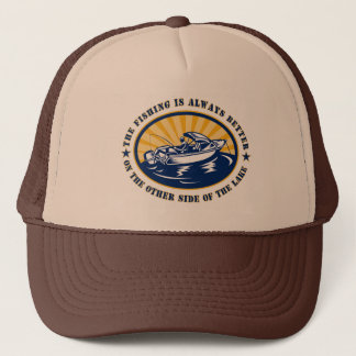 THE OTHER SIDE OF THE LAKE TRUCKER HAT