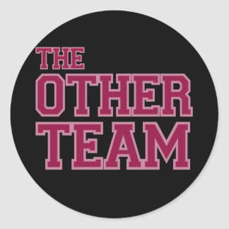 The Other Team Classic Round Sticker