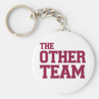 The Other Team red Keychain