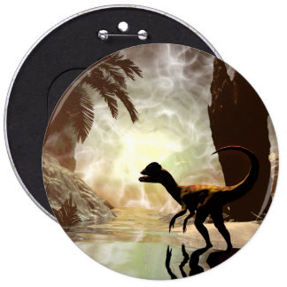 The other world, dinosaur at the river button