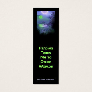 The Other World's Sky bookmark Mini Business Card