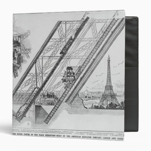 The Otis Elevator in the Eiffel Tower Binder
