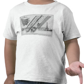 The Otis Elevator in the Eiffel Tower T Shirts