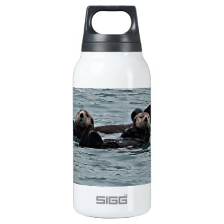 The otter Couple Insulated Water Bottle