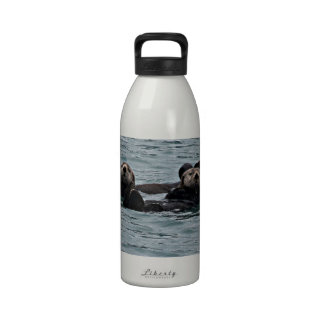 The otter Couple Drinking Bottles