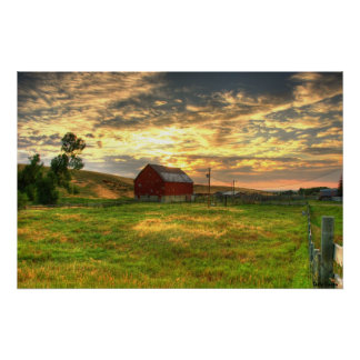 The Otter Creek Barn Poster