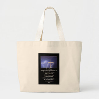 The Our Father Prayer Large Tote Bag