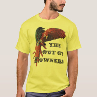 The Out-Of-Towners - Scarlett Macaw T-Shirt