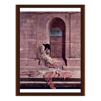 The Outcast By Botticelli Sandro (Best Quality) Postcard