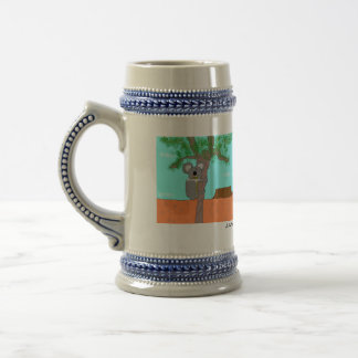 The Outcast in the Outback Beer Stein