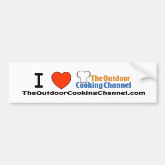 The Outdoor Cooking Channel Bumper Sticker