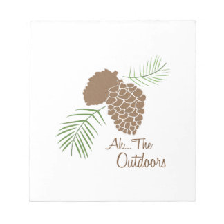 The Outdoors Memo Notepad