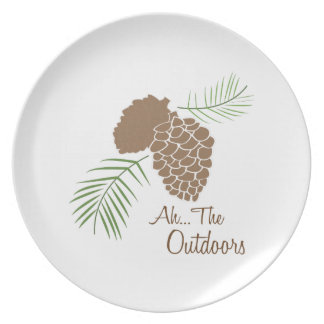 The Outdoors Plate