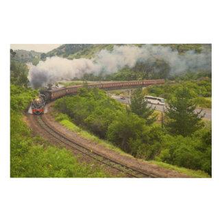 The Outeniqua Choo Tjoe, Knysna, Garden Route Wood Canvases