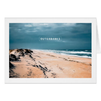 The Outer Banks - Cape Hatteras National Seashore. Card