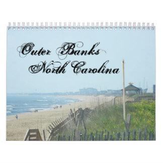 The Outer Banks of North Carolina Calendar
