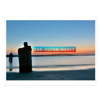 The Outer Banks. Postcard