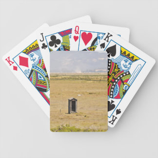 The Outhouse Bicycle Playing Cards