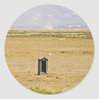 The Outhouse Classic Round Sticker