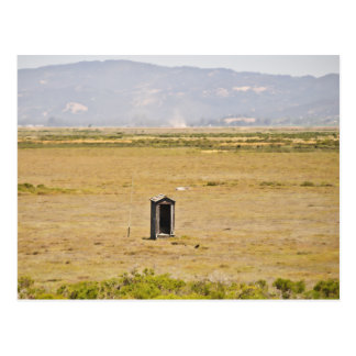 The Outhouse Postcard