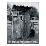"""""""The Outhouse"""" Print"""