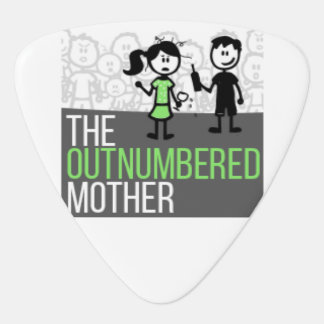 The Outnumbered Guitar Pick