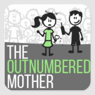 The Outnumbered Sticker