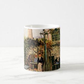 The Outside Cafe - Vincent Van Gogh Coffee Mug
